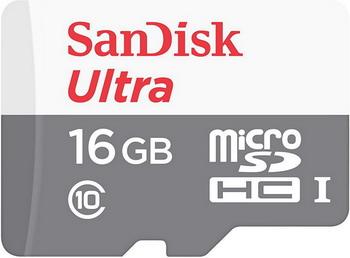 Карта памяти Sandisk 16 GB microSDHC Class 10 Ultra 80 MB/s SDSQUNS-016 G-GN3MN it8718f s hxs gb
