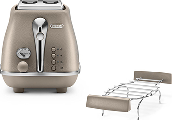 Тостер DeLonghi CTOE 2103.BG тостер delonghi ctoe 2103 красный