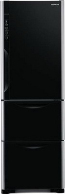 Многокамерный холодильник Hitachi R-SG 38 FPU GBK многокамерный холодильник hitachi r sf 48 gu sn stainless champagne