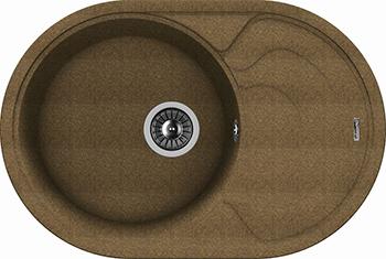 Кухонная мойка Florentina Родос-760 коричневый FG florentina родос 760 чёрный