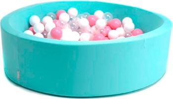 Бассейн сухой Hotnok ''Коктейль'' 200 шариков (розовый белый прозрачный) sbh 017 smartbuy hello black sbh 200