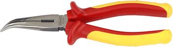 Плоскогубцы Stanley 0-84-008 200 мм 1000 в плоскогубцы dynagrip с удлиненными губками 200 мм stanley 0 84 625