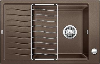 Кухонная мойка BLANCO ELON XL 6 S-F кофе 524859 мойка кухонная blanco elon xl 6 s антрацит 518735