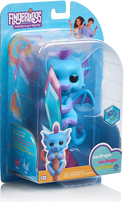 Интерактивный дракон Fingerlings Тара 3581 интерактивный дракон калин 12 см