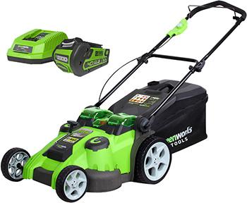 Колесная газонокосилка Greenworks G 40 LM 49 DBK3 2500207 UE chaser