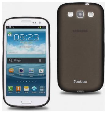 Чехол (клип-кейс) Yoobao Glow Protect Case для Samsung Galaxy S3 i 9300 черный replacement power switch volume home button lens cover for samsung galaxy s3 i9300 silver