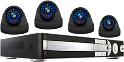 Комплект видеонаблюдения Ginzzu HS-D 04 KHW комплект сигнализации ginzzu hs k12b