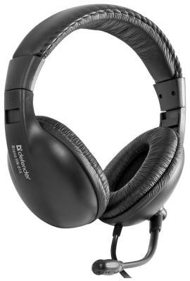Наушники Defender Bravo HN-015 black 63015
