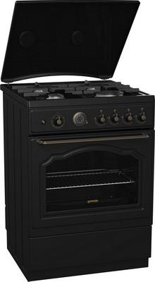 Газовая плита Gorenje GI 62 CLB  плита кухонная gorenje gi 632e35 wkb
