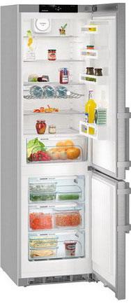 Двухкамерный холодильник Liebherr CNef 4815 двухкамерный холодильник liebherr cnp 4813