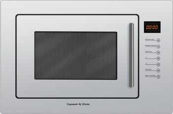 Встраиваемая микроволновая печь СВЧ Zigmund amp Shtain BMO 13.252 W микроволновая печь bbk 23mws 927m w 900 вт белый