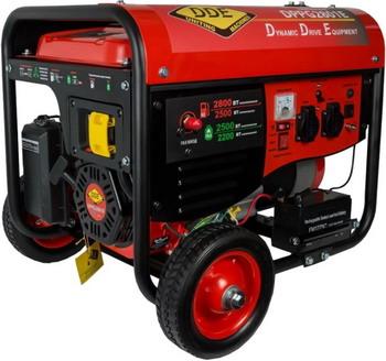 Электрический генератор и электростанция DDE DPPG 2801 E грязевая мотопомпа dde ptr80h