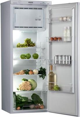 Однокамерный холодильник Позис RS-416 серебристый двухкамерный холодильник позис rk 101 серебристый металлопласт