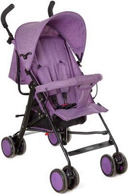 Коляска Everflo E-850 фиолетовая uppababy uppababy коляска трость g luxe фиолетовая