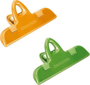Клипса для пакетов Tescoma PRESTO 11см  2шт 420764 сито tescoma presto цвет светло зеленый диаметр 14 см