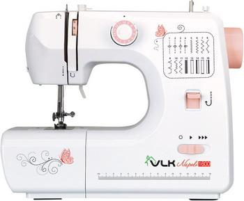 Швейная машина VLK Napoli 1600 белый электромеханическая швейная машина vlk napoli 2100