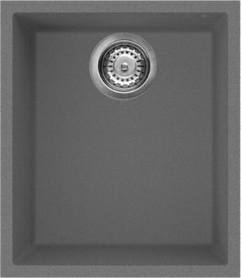 Кухонная мойка OMOIKIRI Bosen 38-U-PL Tetogranit/платина (4993230)