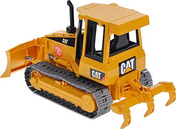 Бульдозер гусеничный Bruder CAT (пластмассовые гусеницы) 02-443
