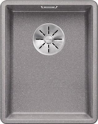 Кухонная мойка BLANCO SUBLINE 320-F алюметаллик с отв.арм. InFino 523418 кухонная мойка blanco subline 400 f алюметаллик с отв арм infino 523495