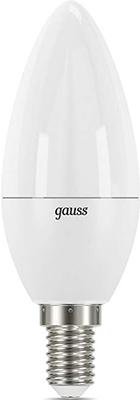 Лампа GAUSS LED Candle-dim E 14 7W 4100К диммируемая 1/10/100