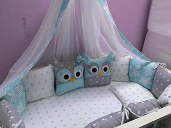 Комплект постельного белья Sweet Baby Civetta Blu