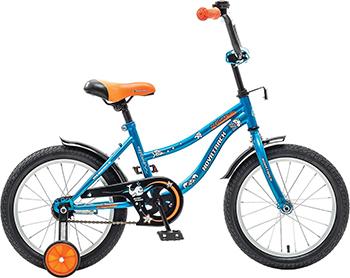 Велосипед Novatrack 14'' NEPTUNE синий 143 NEPTUN.BL5 двухколесные велосипеды novatrack maple 14