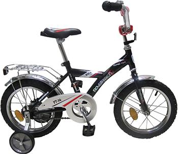 Велосипед Novatrack 14'' BMX черный/серый 143 BMX.BK6 novatrack novatrack детский велосипед bmx 14 черно серый