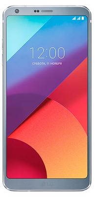 Мобильный телефон LG LG G6 H 870 S 32 Gb платиновый мобильный телефон lg g flex 2 h959 5 5 13 32 gb 2 gb gps wcdma wifi