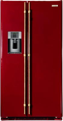 Холодильник Side by Side Iomabe ORE 24 VGHFRR Бордо холодильник side by side iomabe ore 24 cghfbb черный
