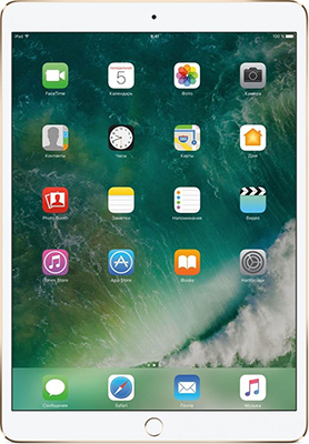 Планшет Apple iPad Pro 10 5'' (2017) Wi-Fi 512 ГБ (MPGK2RU/) золотистый