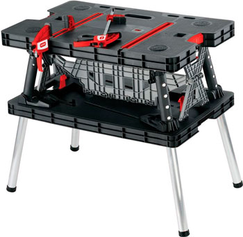 Верстак Keter FOLDING WORK TABLE вентилятор deepcool wind blade 120 red 120x120x25 3pin 27db 1300rpm 119g красный led