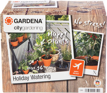 Набор для полива Gardena Комплект для полива в выходные дни 01265-20 сооружаем системы орошения полива дренажа и колодцы