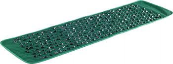 Массажный коврик Lite Weights 2093 LW зеленый с камнями