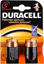 Батарейка Duracell LR 14-2BL (20/60/6000) батарейка космос koclr034bl lr lr03 bp 4 цена за блистер 4шт