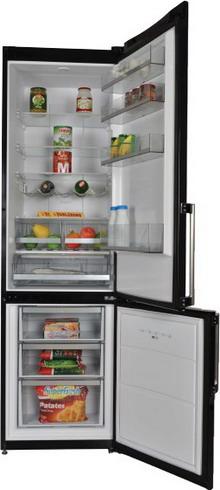 Двухкамерный холодильник Vestfrost VF 3863 BH холодильник vestfrost vf 465 eb new