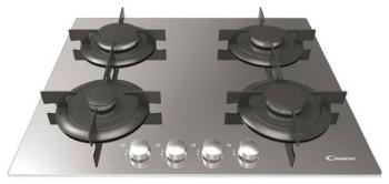 Встраиваемая газовая варочная панель Candy CVG 64 SGX встраиваемая газовая варочная панель candy clgc 64 sp gh
