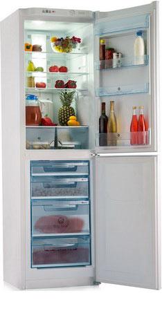 Двухкамерный холодильник Позис RK FNF-172 w h холодильник pozis rk fnf 172 w b встроенные ручки черн накладки