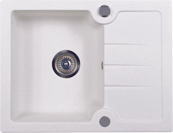 Кухонная мойка Kuppersberg MODENA 1B1D WHITE (7051)