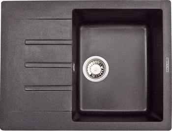 Кухонная мойка Zigmund amp Shtain RECHTECK 645 темная скала кухонная мойка zigmund amp shtain eckig 800 топленое молоко