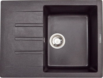 Кухонная мойка Zigmund amp Shtain RECHTECK 645 темная скала кухонная мойка zigmund amp shtain eckig 800 черный базальт