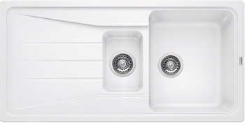 Кухонная мойка BLANCO SONA 6S SILGRANIT белый кухонная мойка ukinox stm 800 600 20 6