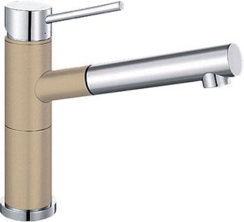 Кухонный смеситель BLANCO ALTA-S Compact хром/шампань blanco alta s compact двухцветный шампань