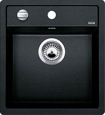 Кухонная мойка BLANCO DALAGO 45 SILGRANIT антрацит с клапаном-автоматом  кухонная мойка blanco dalago 45 grey beige