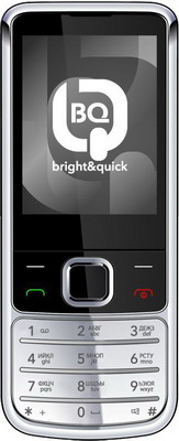 Мобильный телефон BQ BQM-2267 Nokianvirta Silver сотовый телефон bq bqm 2803 munich brown