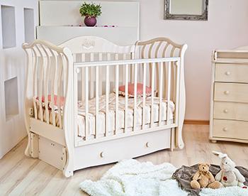 Детская кроватка Можга Красная Звезда Юлиана С757 слоновая кость