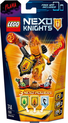 Конструктор Lego Nexo Knights Флама - Абсолютная сила 70339 knights of sidonia volume 6
