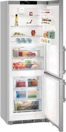 Двухкамерный холодильник Liebherr CBNef 5715 двухкамерный холодильник liebherr ctpsl 2541