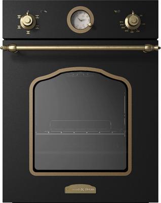 Встраиваемый электрический духовой шкаф Zigmund amp Shtain EN 110.622 A встраиваемый электрический духовой шкаф smeg sf 4120 mcn