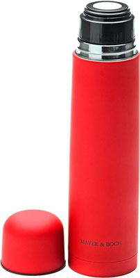 Термос MayerampBoch 25880 нерж. КРАСНЫЙ 1 л нерж/сталь МВ(х24) термос stinger 1 л узкий сталь серебристый