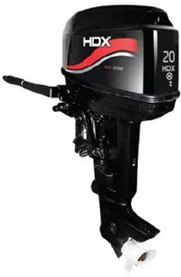 Мотор лодочный HDX T 20 BMS 35739 лодочный мотор 2 х тактный hdx t 25 fws